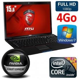 MSI PRO 15.6 i7 4Go 1To GTX860 WP7P32