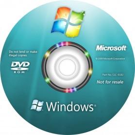 """DVD Support Restauration Windows """"indispensable pour réinstaller Windows en cas de plantage"""""""