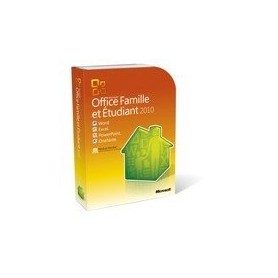 OFFICE 2010 FAMILLE & ETUDIANT BOITE