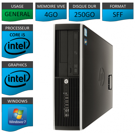 HP Elite 8100 Core i5