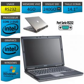 Ordinateur Portable Windows XP Pro Port Serie SSD 240GO
