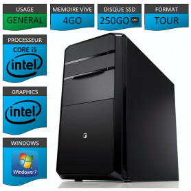 Ordinateur neuf core i5 windows 7 32 bits ssd 250