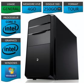 PC NEUF MSI Core i5 4Go 250Go SSD