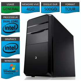 PC Dual Core en XP Pro Port Paralelle