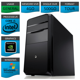 PC NEUF Core I5 SSD 525 10 fois plus rapide