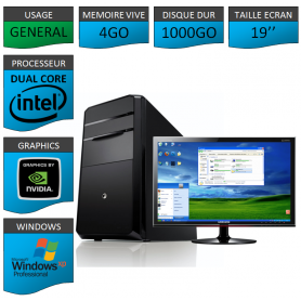 PC ideal Graphisme 1000GO XP PRO 19""