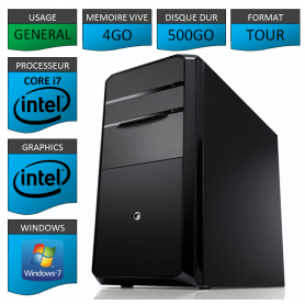 PC NEUF MSI Core i7 4Go 500Go
