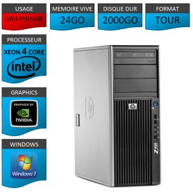 HP Workstation Z400