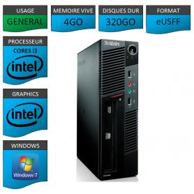 Lenovo ThinkCentre M90 eUSFF Windows 7 pro 64