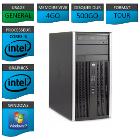 HP Elite 8300 i3 4Go 500Go W7P