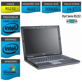 Portable neuf Windows XP Pro Port Serie 4Go 500Go