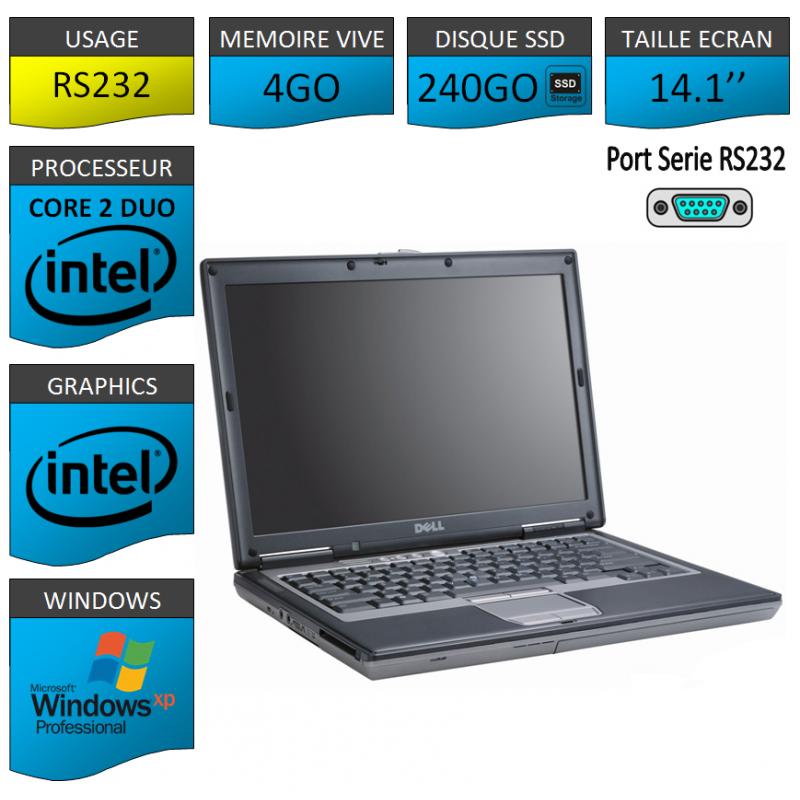 Portable neuf Windows XP Pro Port Serie 4Go 240SSD