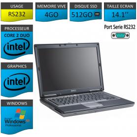 Portable neuf Windows XP Pro Port Serie 4Go 512SSD