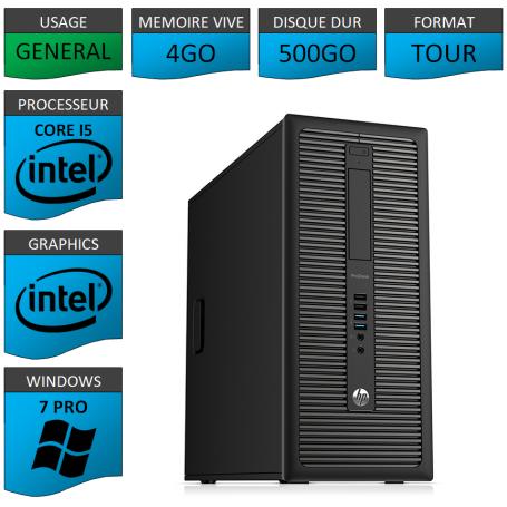 HP Prodesk 600 G1 4Go 500Go W7P