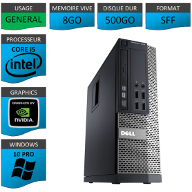 Dell Core i5 8Go 500Go Windows 10 Pro Geforce