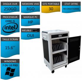 Classe Mobile 30 Ordinateurs Portables HP pavé numérique 8Go RAM 15.6''