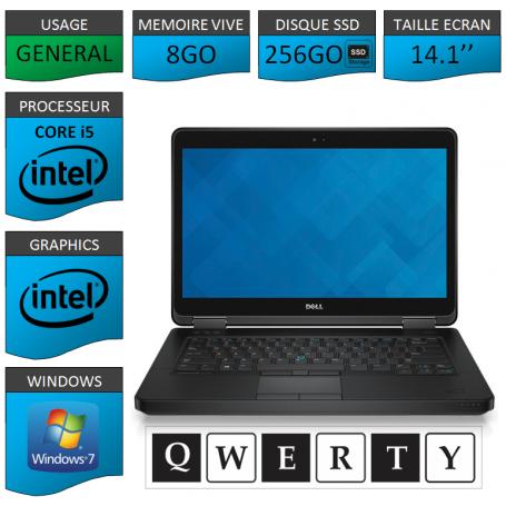 DELL Latitude e5440 Windows 7 CLAVIER QWERTY