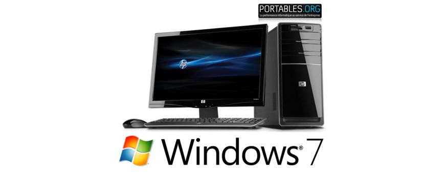 pc de bureau windows 7 pro 64 bits neuf. Black Bedroom Furniture Sets. Home Design Ideas