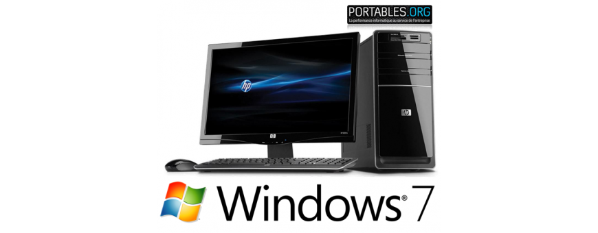 Pc de bureau windows 7 pro 64 bits reconditionn for Windows 7 bureau vide
