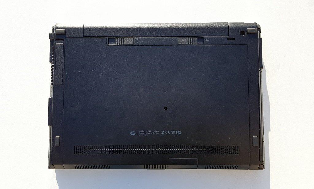 retirer disque dur elitebook 2540p