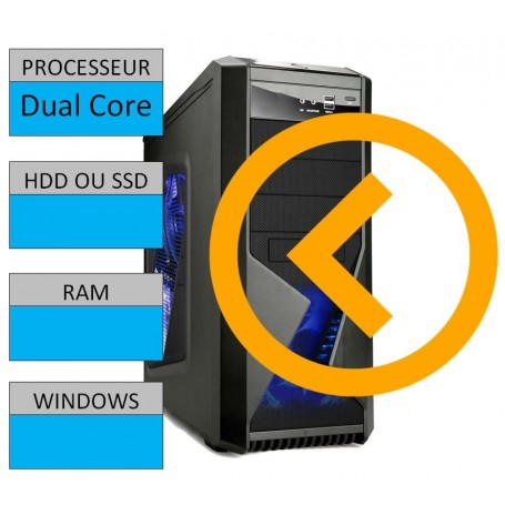 Kit Configuration Base Intel Double Coeur G1840 2.8Ghz