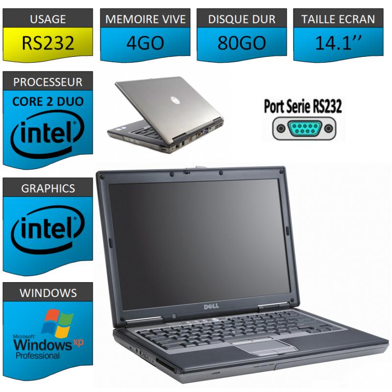 Pc portable port serie