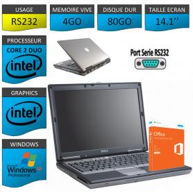 Ordinateur Portable Windows XP Pro Port Serie 4Go 80Go Office Pro