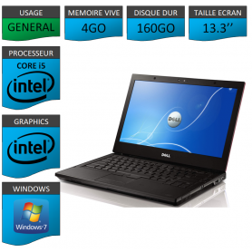 Dell Latitude e4310 Windows 7 Pro 32 bits
