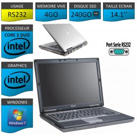 DELL LATITUDE PORT SERIE RS232 NATIF Windows 7 Pro 32Bits - 4Go 240SSD