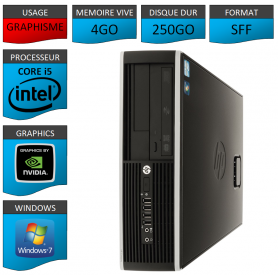 PC HP Elite Pro 4Go 250Go HDMI