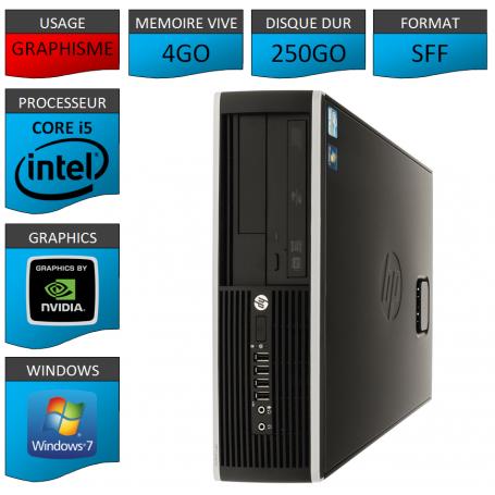 PC HP Elite Pro 4Go 250Go HDMI