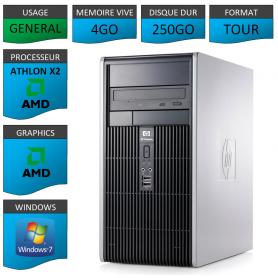HP DC5850 4GO 250GOWINDOWS 7 PRO 64 bits