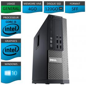 Dell 7010 Core i5 4Go 120SSD Windows 10 Pro