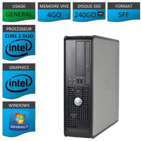 Dell 4Go 240SSD Windows 7 Pro 32 bits