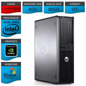 PC DELL 4GO 80GO GEFORCE WINDOWS XP PRO 32Bits