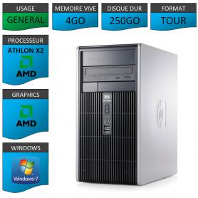 HP 4GO 250GOWINDOWS 7 PRO 32 bits