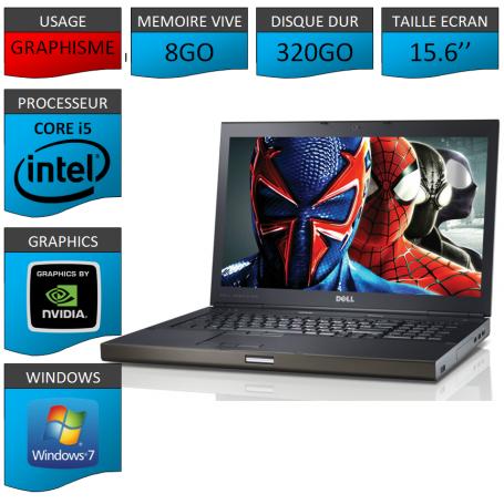 Dell Precision M4600 8Go 320Go W7P