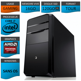 STATION GAMER INTEL COREi7 3770k 16Go 240Go