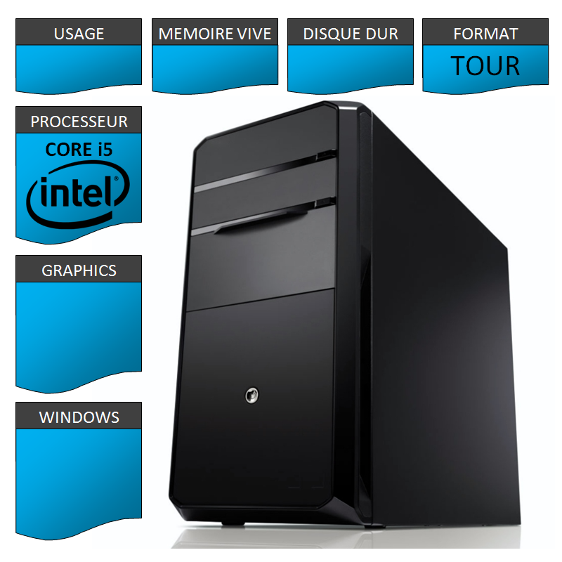 Kit Configuration Base Intel Core i5