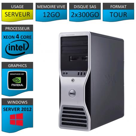 DELL PRECISION T3500 Windows Server 2012