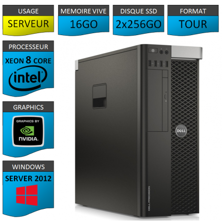 DELL PRECISION T5600 Windows Server 2012