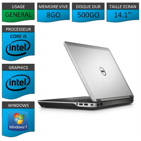 Dell latitude e6440 8Go 500Go W7P64
