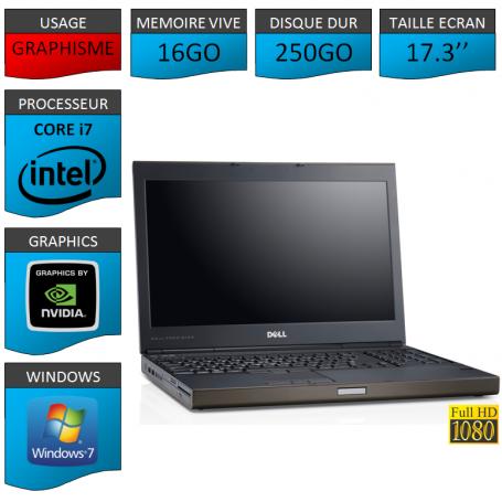 Dell Precision M6600 16Go 250Go W7P