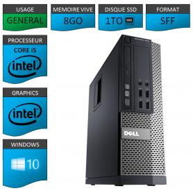 Dell 7010 Core i5 8Go 1000SSD Windows 10 Pro