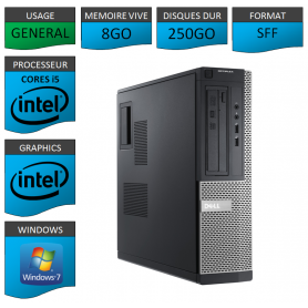Dell Optiplex 980 SFF i5 8Go 250Go
