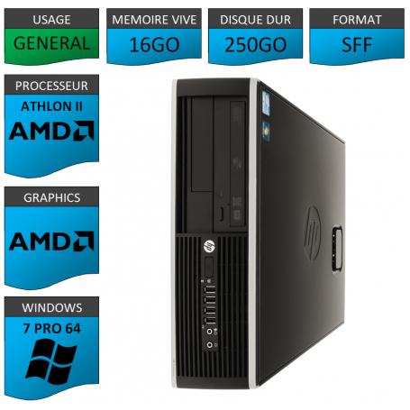 HP AMD Athlon II 16Go 250Go W7P