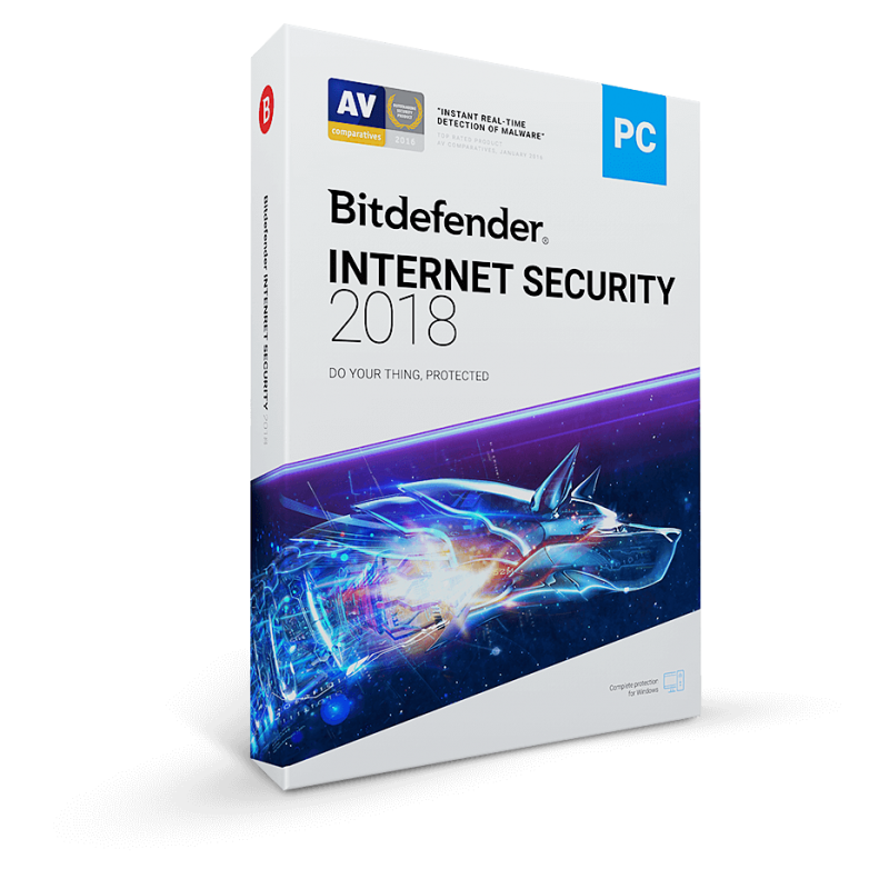 Bit Defender Internet Security 2018 2ans / 5pc