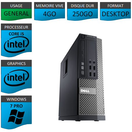 PC i5 - Dell Optiplex