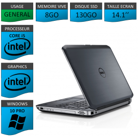 Dell latitude e5430 8Go SSD130 Windows 10 Pro 64