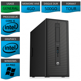 HP Prodesk 600 G1 4Go 500Go W10P